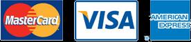 Mastercard - Visa - American Express